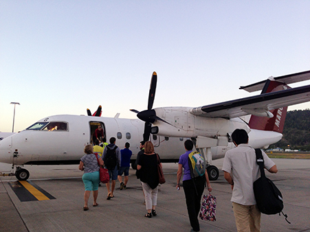 Skytransのプロペラ機