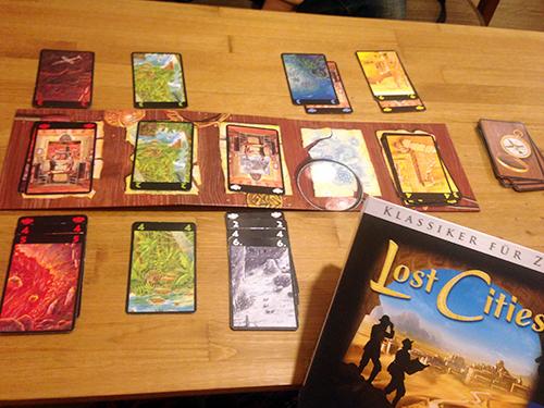 ボードゲーム「Lost Cities」