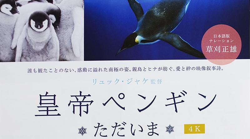 「皇帝ペンギン ただいま」を鑑賞